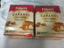 New listing 48 Count Folgers Caramel Drizzle K Cup Coffee Bb:12/21