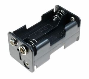 AA x 4 (2+2) Battery Holder Press Studs Clip Connection