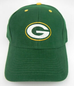 GREEN BAY PACKERS NFL FOOTBALL GREEN REEBOK REPLICA ADJUSTABLE CAP HAT NEW!