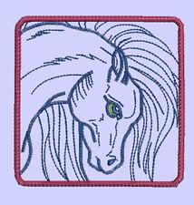HORSE BLOCKS - 24 MACHINE EMBROIDERY DESIGNS