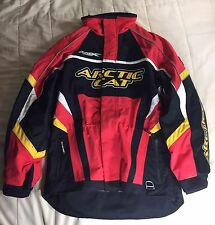 Arctic Cat Snowmobile Coat A-Tex Red Mens Medium Jacket