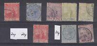 Trinidad QV Collection Of 8 Mint/VFU J3864