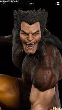 Sideshow Brown Wolverine Premium Format Statue