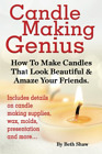 Shaw Beth-Candle Making Genius - Ht Make Book New