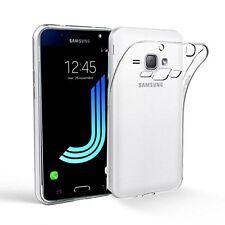 Pour Samsung Galaxy J1 ( version 2016) Coque Gel Silicone Tpu Lisse Transparent