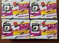 2020 Donruss Optic Baseball Blaster Box 1 Auto per Pink Parallels 3 Card Bonus