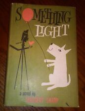 """Something Light"" by Margery Sharp. 1960 hardcover Dust Jacket Book Club"