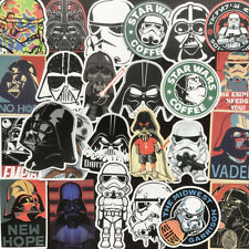 25Pcs Star Wars Graffiti Skateboard Sticker Cartoon Anime Luggage Laptop Decals