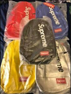 Supreme Crossbody Single Strap All Colors Fast Shipping Brand New