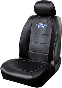 Ford Logo Deluxe Premium  Sideless Seat Cover Set