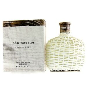 NEW John Varvatos Artisan Pure EDT Spray 125ml Perfume