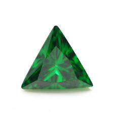 1.47ct AAAAA Natural Mined 6x6mm Sri-Lanka Emerald Triangle Cut VVS Gemstone