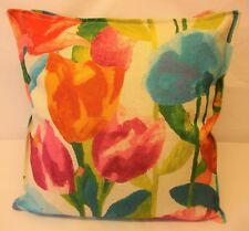 FABULOUS CUSHION COVER IN HARLEQUIN VERDACCIO