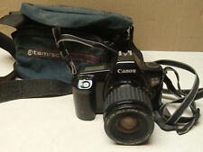 Canon EOS Rebel 1000 quartz date 35mm SLR film camera, 35-80mm lens 1:4-5.6