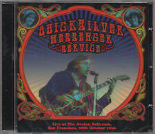 QUICKSILVER MESSENGER SERVICE Live 28th October 1966 CD San Francisco Avalon B.