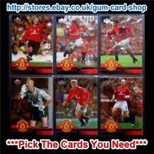 Carte collezionabili calcio originale Manchester United stagione 2002