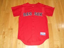 Majestic BOSTON RED SOX Authentic Collection MLB Team Batting Practice JERSEY Sm