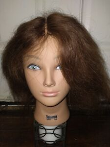 BURMAX COSMETOLOGY HEAD MANNEQUIN DELUXE TAMMIE 100% HUMAN HAIR