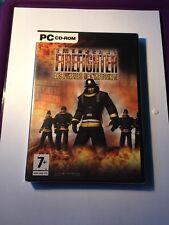 Jeu Pc Emergency Firefighter Neuf Sous Blister