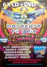 HARDCORE TILL I DIE - 6 X CD & DVD PACK !! DJS SY SQUADE GAMMER BREEZE RAVE DJ