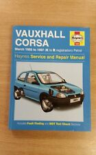 VAUXHALL CORSA PETROL 1993-1997 K-R REG HAYNES WORKSHOP MANUAL 1985 VGC FREE P&P