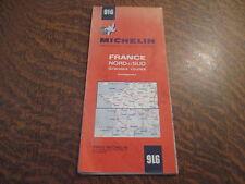 carte routiere 916 michelin france nord et sud grandes routes enneigement