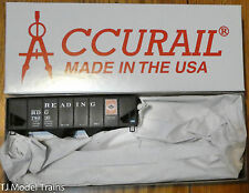 Accurail HO #25093 (Rd #78935) Reading USR Twin Hopper kit (Plastic Kit)