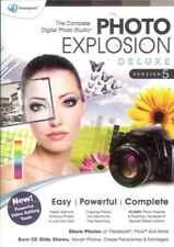 Foto Explosion Deluxe 5, bearbeiten, erstellen, freigeben BILDERN & FOTOS, Editor Studio NEU