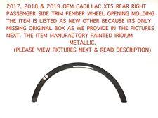 2017-2019 cadillac xt5 rear right trim fender wheel opening molding 84142055