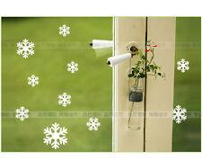 Snowflake Xmas Wall Decals Vinyl Window Stickers Home Art Kids Nursery Decor