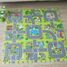 Baby Eva Foam Puzzle Play Floor Mat City Road Education Interlock Tiles Traffic