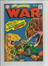 STAR SPANGLED WAR STORIES #136: Silver Age Grade 7.0 With Kubert Cover Art!!