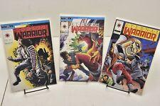 Lot of 3 Eternal Warrior #1-3 Valiant Comic Books 1992