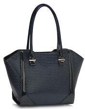 Women's Faux Leather Tote Bags Ladies Fashion Designer Handbags
