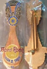 Hard Rock Cafe SHARM EL SHEIKH 1998 Egyptian Guitar PIN - HRC #8672 GOLD Mesh Bk