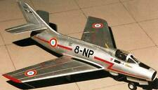 IV A Mystere Dassault France Fighter-Bomber Airplane Mahogany Wood Model Small