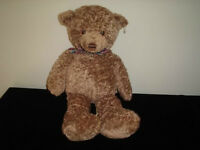 Gund Heads and Tales Teddy Bear Large 18 inch  Handmade 2000