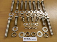 Land Range Rover V8 Bell Housing STAINLESS Bolts discovery P6 SD1 TVR Morgan