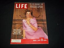 1959 MARCH 2 LIFE MAGAZINE - PRINCESS PIGNATELLI - BEAUTIFUL FRONT COVER- GG 771