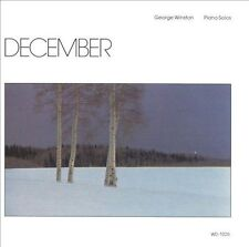 1 CENT CD December - George Winston SEALED/WINDHAM HILL/NEW AGE