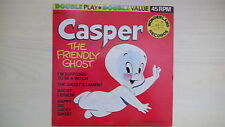 CASPER The Friendly Ghost Double Play Wonderland Records 45rpm 60s