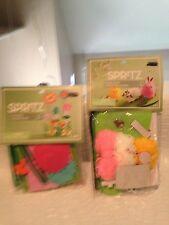 Flower Garden Craft & Pom Pom Critter Scene Lot Spritz Target Craft Kits Summer