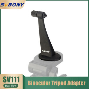 SV111 1/4Inch threading High performance alloy material Binocular Tripod Adapter