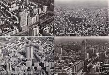 # MILANO DALL'AEREO - 4 CARTOLINE ANNI '50 - '60