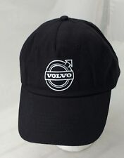 VOLVO Logo Baseball Hat Cap BLACK Adjustable One Size Fits All NEW