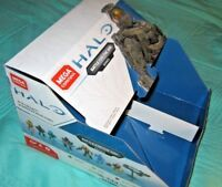 Mega Construx Halo BATTLE FOR THE ARK Series Box,NO FIGURES,SHIPS flat