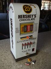 Hershey's chocolate 4 column vending machine diner candy mancave game room