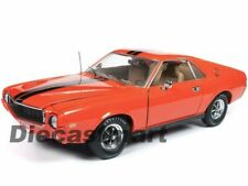 Autoworld 1:18 1969 AMC AMX Hemmings Magazine AMM1170 Orange American Muscle