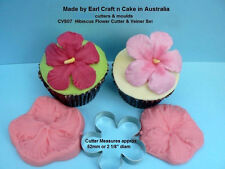 Hibiscus Flower Cutter & Veiner Cake Decorating Sugar Flower Gum Paste Tools