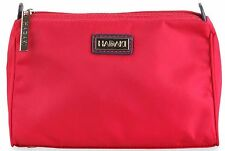 Vivacious Red Makeup Bag Toiletry Cosmetic Travel School Gym Pod Holder Women
